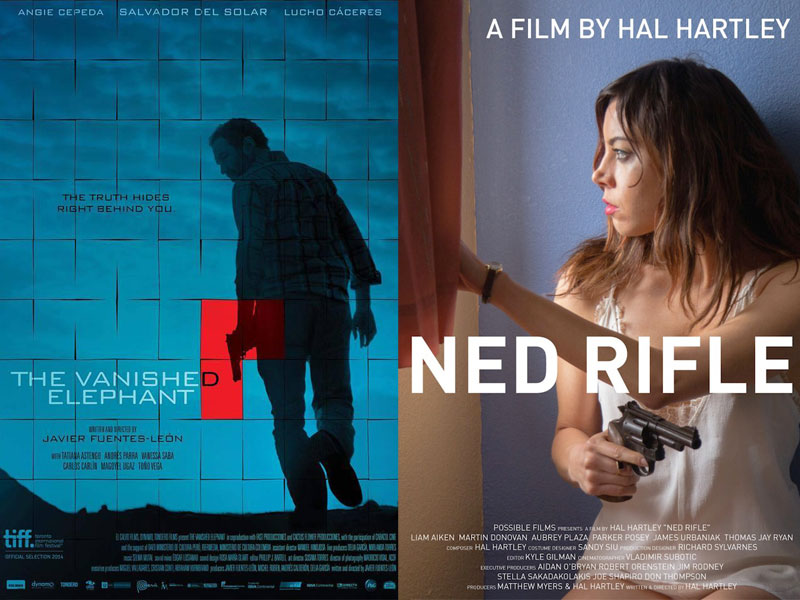 Philosophical Thrillers at TIFF: 'Ned Rifle' and 'The Vanished Elephant'