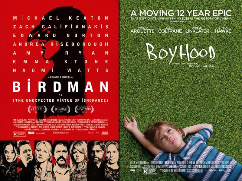 "MORE HONOURS FOR ""BIRDMAN"" AND ""BOYHOOD"""