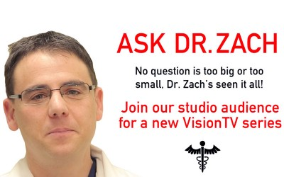 "Audience Call: Join us for ""Ask Dr. Zach"""