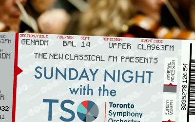 Spend Your 'Sunday Night with the TSO' on The New Classical FM