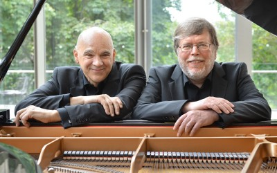 The Anagnoson & Kinton Piano Duo Perform Live from The New Zoomer Hall