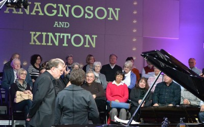 The Anagnoson & Kinton Duo Performed Live from Zoomer Hall