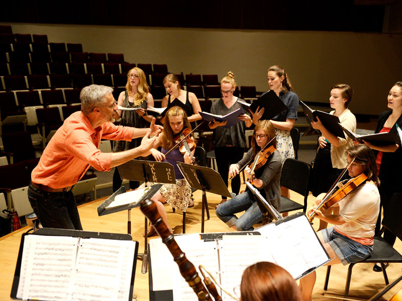 We Go Behind-the-Scenes with the Tafelmusik Baroque Summer Insitute
