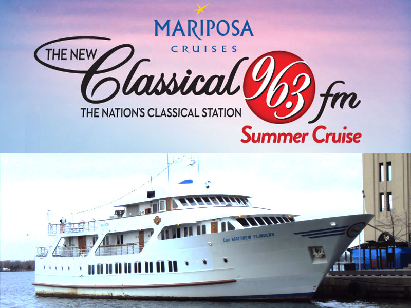 ALL ABOARD! It's The 1st Annual Classical FM Summer Cruise.