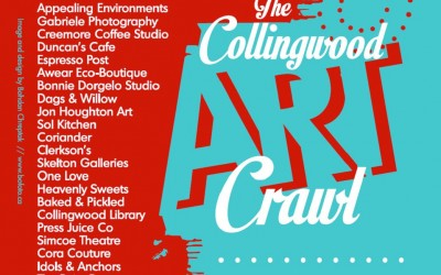 Downtown Collingwood Reimagined: Art Crawl 2015