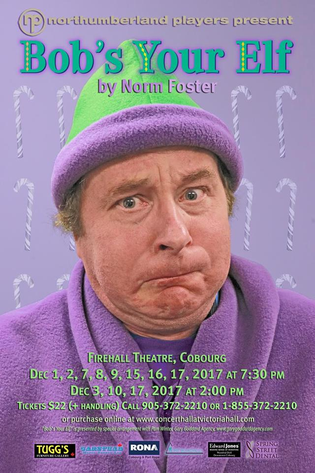 """Find Your """"Christmas Spirit"""" With Northumberland Players Holiday Production  """"Bob's Your Elf"""" featured image"""