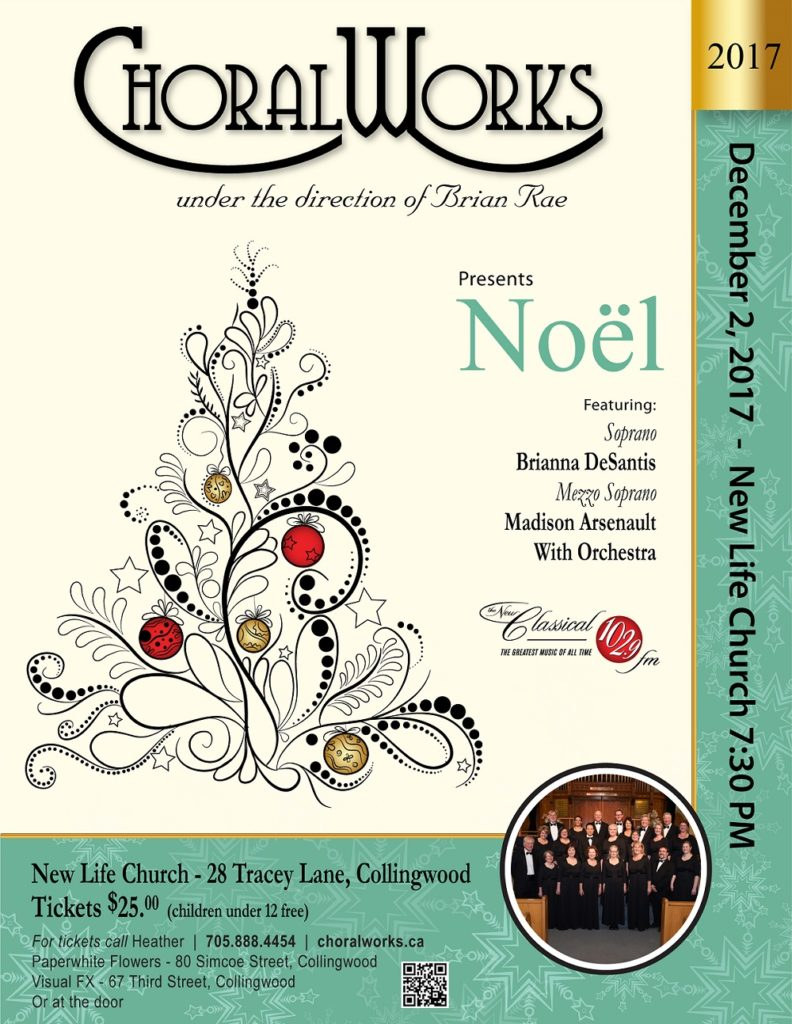 """ChoralWorks Rehearsals Are Underway Preparing For Their Upcoming """"Noel"""" Concert featured image"""