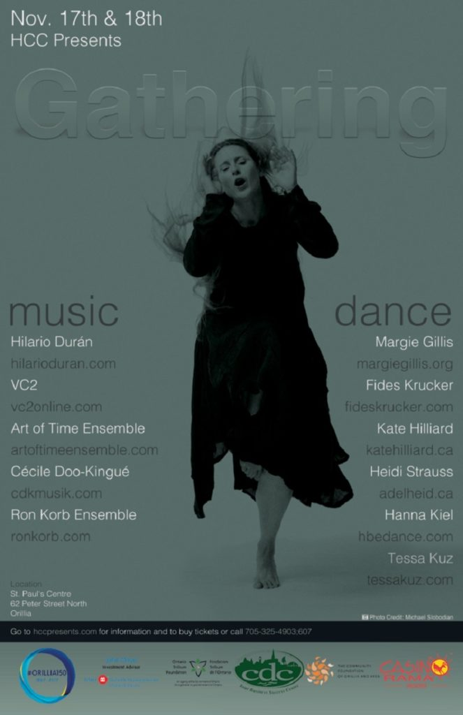 """""""The Gathering"""" Is Sure To Be The Music And Dance Event Of The Season In Orillia featured image"""