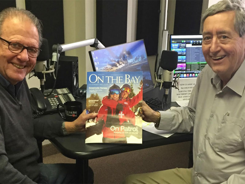 Bill Anderson talks to Jeff Shearer about Winter Issue of 'On The Bay Magazine' featured image