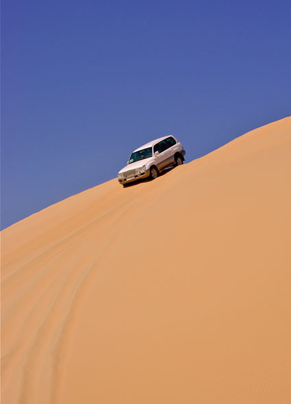 Dune Bashing in Abu Dhabi
