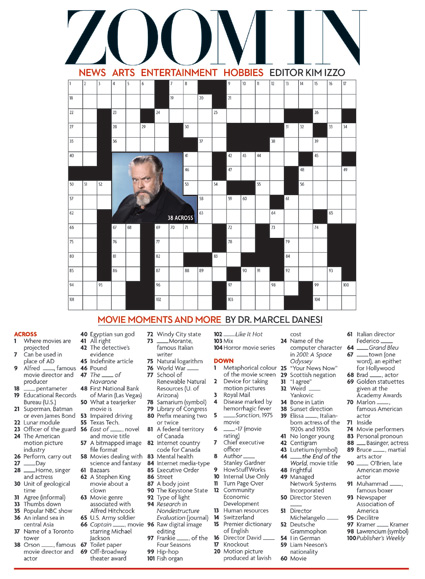 What Are People Magazine Printable Crossword Puzzles ...