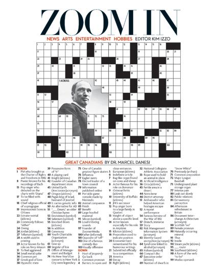 crossword weaver com answers pdf