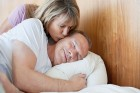 Counting on sleep_resized_-senior-woman-kissing-man-on-cheek-in-bed-gettyimages