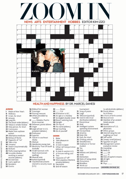 People Crossword Puzzles and Crosswords - FunTrivia