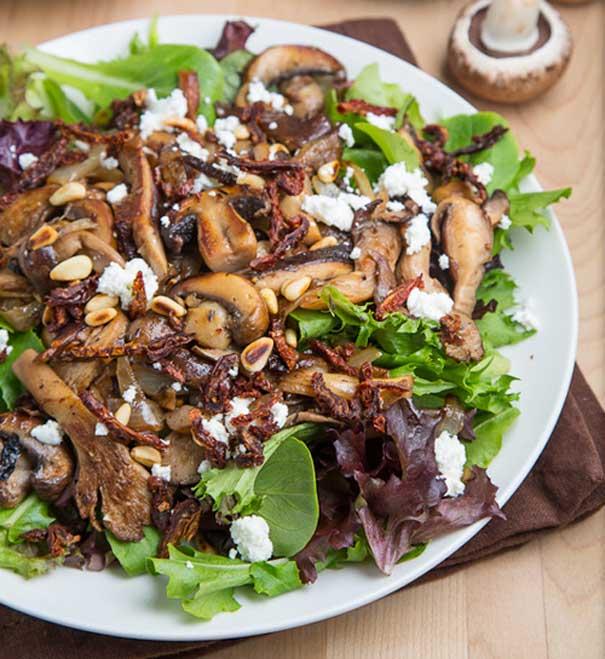 recipe mushroom salad