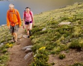 Walk in the park-old-couple-hiking-on-mountain-trail-gettyimages