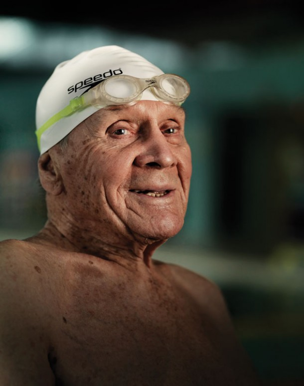 Centenarian Still Enjoys Life In The Deep End Everything