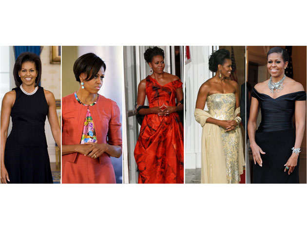 0918c4f1769bd First Lady Michelle Obama's Best Fashion and Style Moments ...