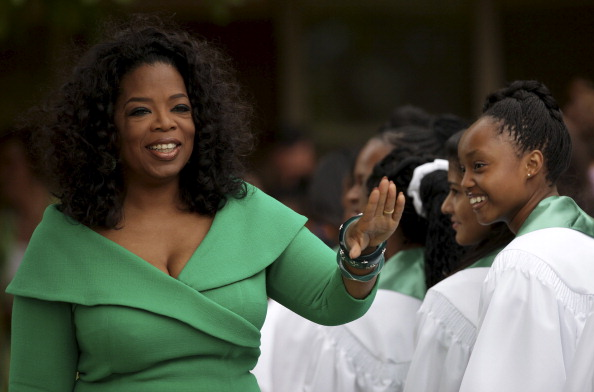 Oprah Winfrey in South Africa