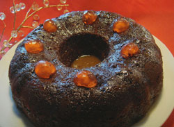 Dreamy Date Pudding Cake with Caramel Infusion