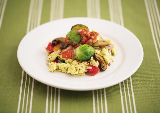 Meatless Monday recipes vegetables eggs