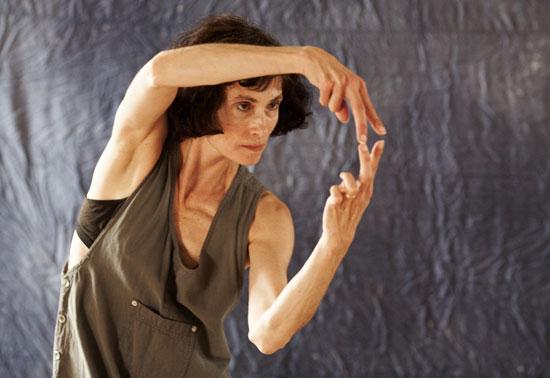 Claudia Moore dancing