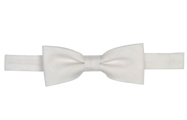 Burberry London bow tie, $160, Holt Renfrew