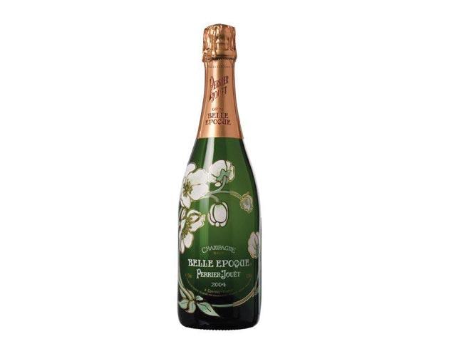 Perrier-Jouet Belle Epoque Brut Champagne 2004, $190, Vintages, www.vintages.com