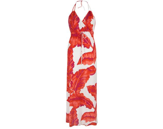 Chili-Red-Banana-Leaf-Print-Dress-$185-
