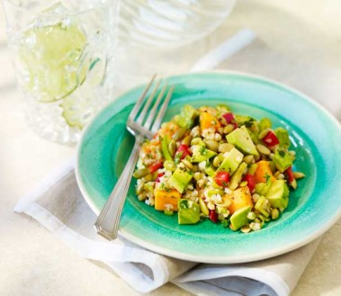 Kasha-Sweet-Potato-Salad-with-Avocado