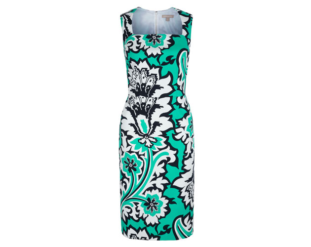 Pool-Green-Eden-Rock-Printed-Dress-$160