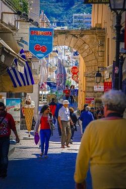 Shopping in Rethimnon, Crete745