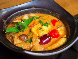 Thai red curry with roast duck (Jeremy Ferguson)