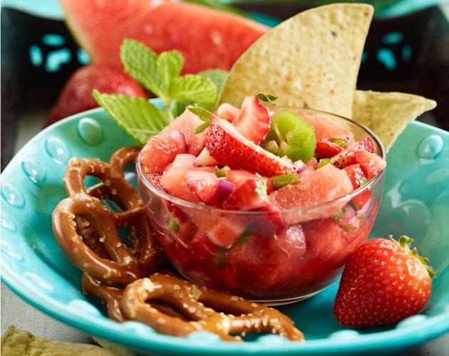 Watermelon-strawberry-Mint-Salsa