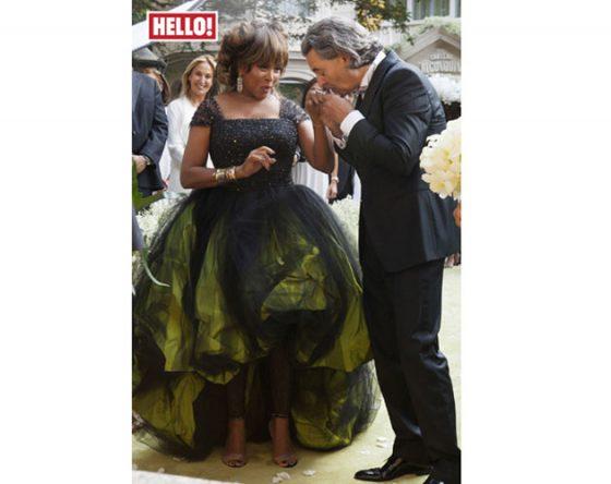 Tina Valerdi 2019 Wedding Dresses: Tina Turner Goes Green On Wedding Day