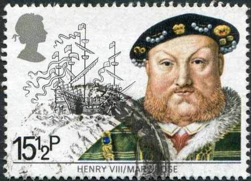 Henry_VIII_shutterstock_85842085
