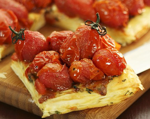 Tenderflake Recipe Herb Oven Roasted Tomato Puff Pastry