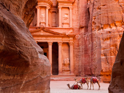Petra….An Open-Air Museum…..A New Wonder of the World*, Jordan's most valuable treasure and greatest attraction