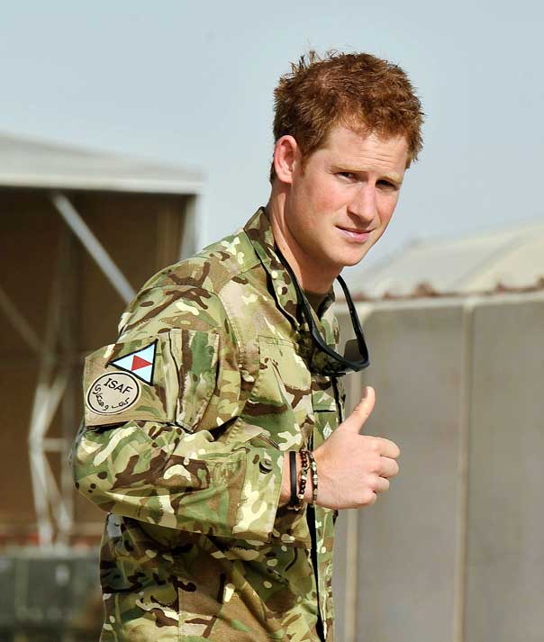 Prince Harry: In The Army Now