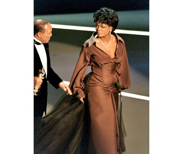 Quincy-Jones-and-Oprah-Winfrey-during-1995-Academy-Awards-in-Los-Angeles,-California,