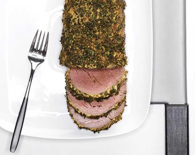 Herb-Crusted Beef Tenderloin Recipe