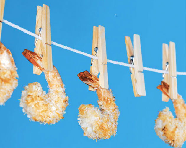 Honey Baked Coconut Shrimp