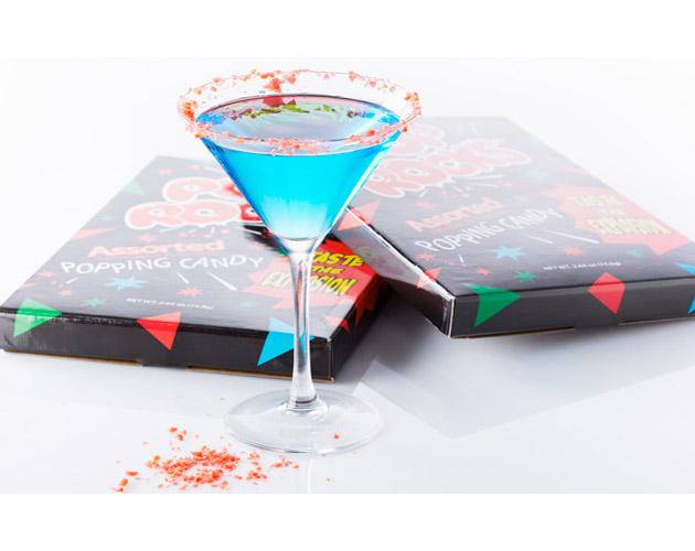 Red, White & Blue Martini