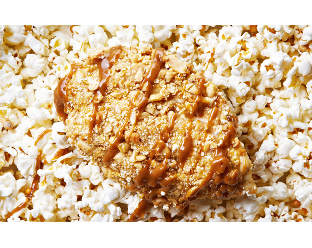 Popcorn and Peanut Crusted Chicken
