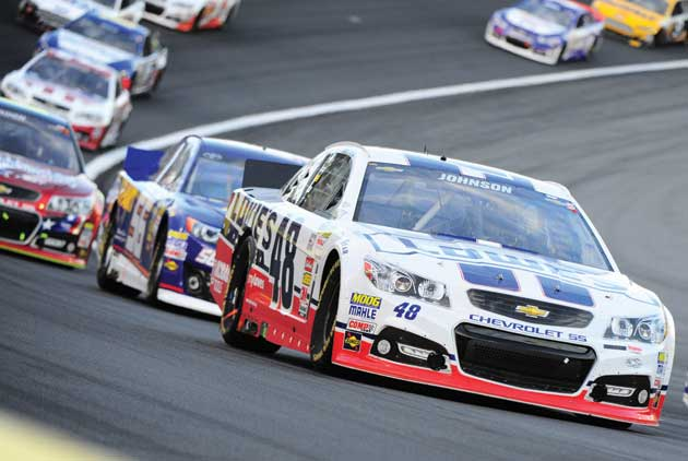 A Need For Speed On The Track At Charlotte Motor Speedway