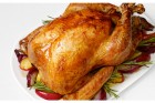 Easy Turkey Recipe with Stuffing and Cranberry Sauce