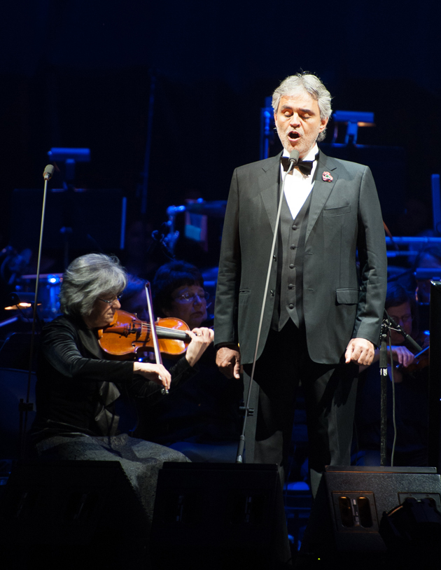 Andrea Bocelli And Fantasia In Concert - Newark, NJ