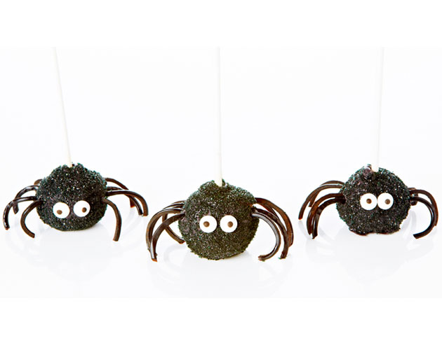 Spider Chocolate Cake Pops
