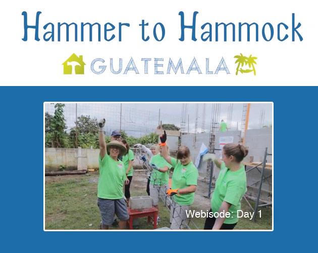 Hammer to Hammock: Day 1