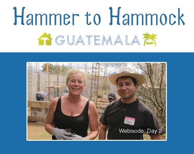 Hammer to Hammock: Day 2